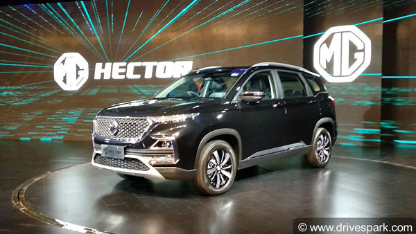 MG Hector Seven-Seater SUV Confirmed For India — Launch Expected In Early-2020