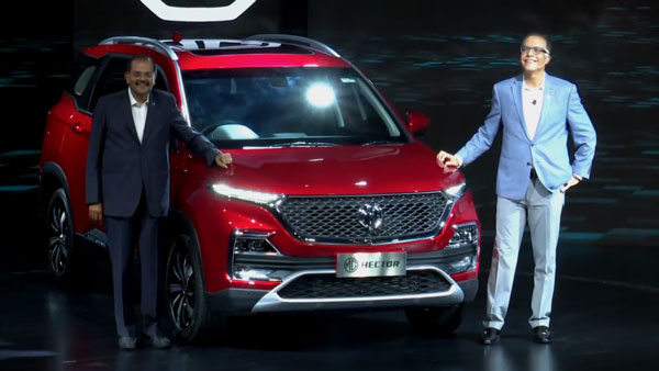 MG Hector Revealed — Bookings & Deliveries In June