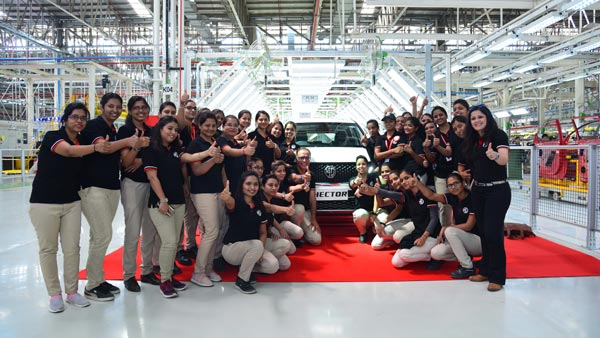 MG Hector Production Commence