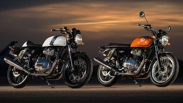 Royal Enfield Upgrading 650 Twins Rear Suspension