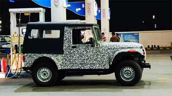 New Mahindra Thar May Feature AMT Transmission