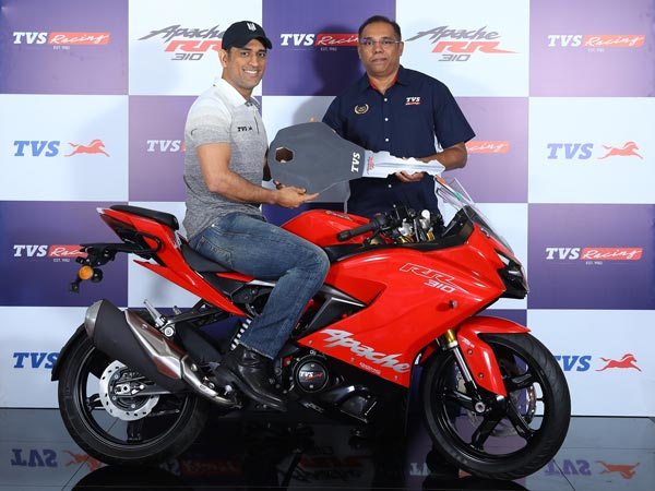 TVS Apache RR 310 Update Launched In India