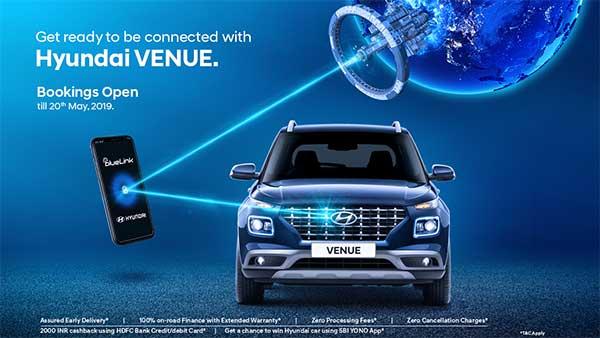 Hyundai Venue — Connected Car