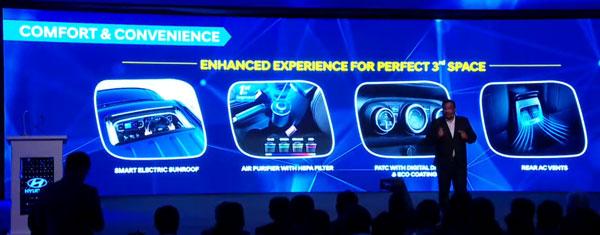 Hyundai Venue — Comfort Features