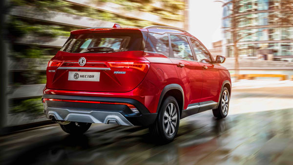 MG Hector Booking Officially Open On 4 June