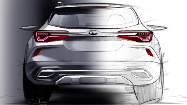 New Kia SUV (SP2i) Official Sketches Revealed