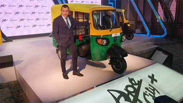 Piaggio Launches Ape City Plus — Enters Three-Wheeler Passenger Segment