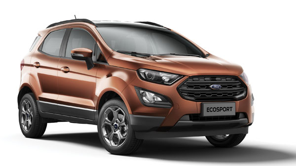 Ford EcoSport Variants List Gets Shuffled
