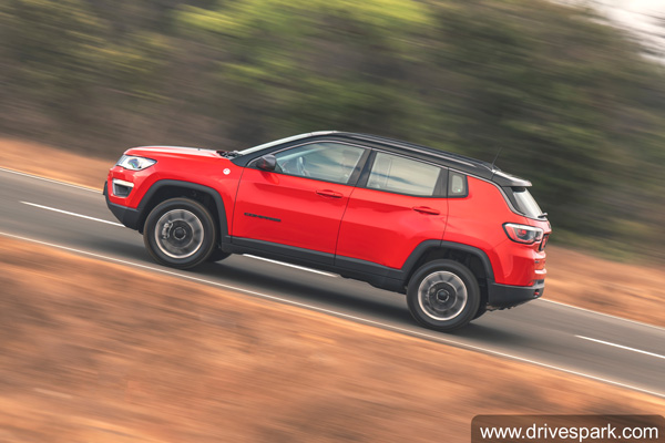 Jeep Compass Trailhawk Bookings Open