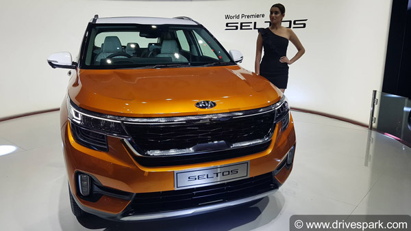 Kia Seltos Unveiled In India For The World