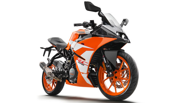 KTM RC125 Deliveries