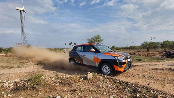 Rally-Spec Mahindra XUV300 Revealed For INRC