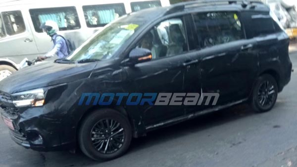 Maruti Suzuki Ertiga Cross Spied Testing In India — Premium Variant Of The MPV Coming Soon