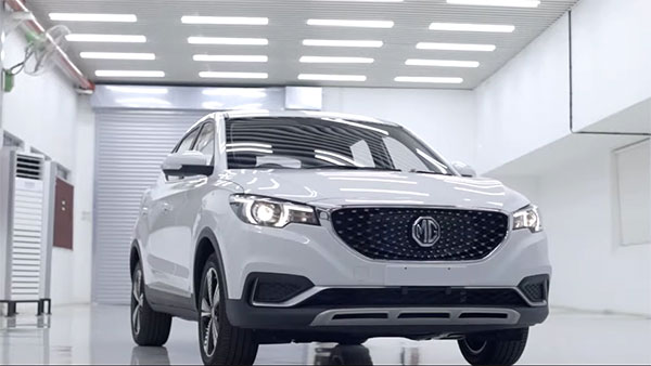 MG eZS Production Begins In India