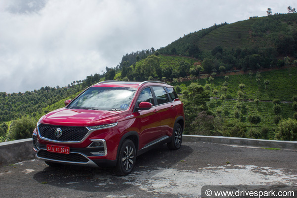 MG Hector Bookings Cross 10,000 Units