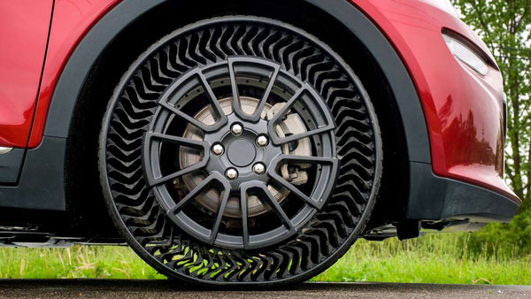 Airless Tyres To Be Mass Produced