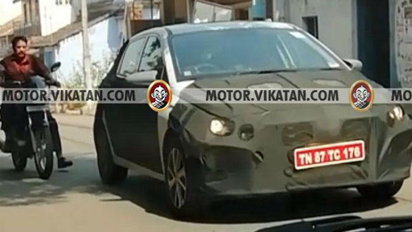 New Hyundai Elite I20 Spy Pics Next Generation Elite I20 Spied Testing Ahead Of 2020 India