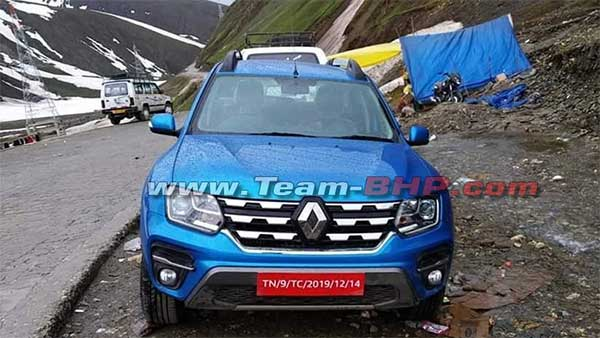 2020 Renault Duster Facelift Spotted Testing Sans Camouflage — Most Detailed Images Yet