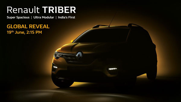 Renault Triber Teased Ahead Of Launch