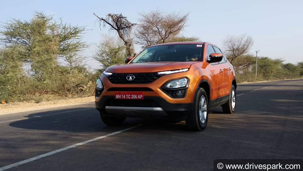 Tata Motors Increases Price Of All Harrier Variants
