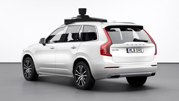 Volvo Cars And Uber Reveal Self Driving Car