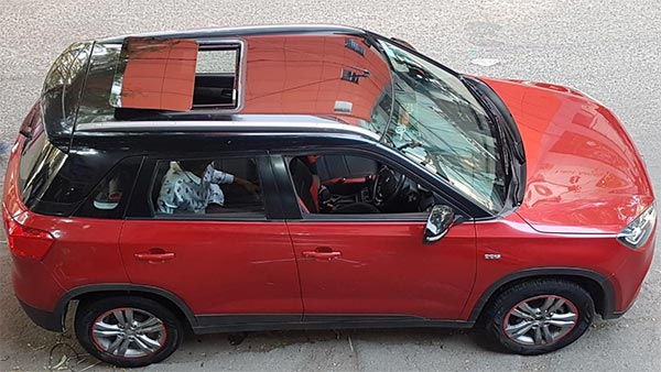 Maruti Suzuki Vitara Brezza Facelift To Get Four Airbags, Sunroof & New Petrol Engine