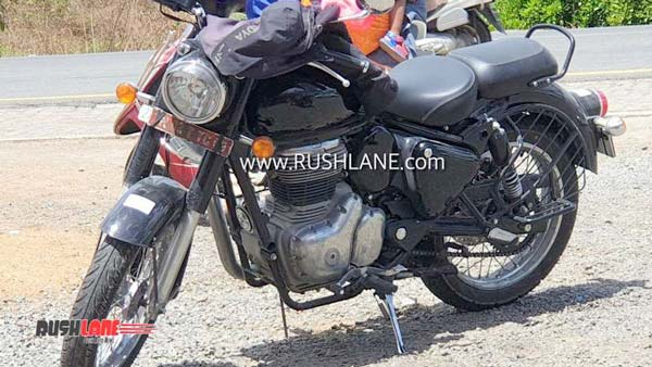 2020 Royal Enfield Classic 350 Spotted Testing With Several Improvements & New Engine