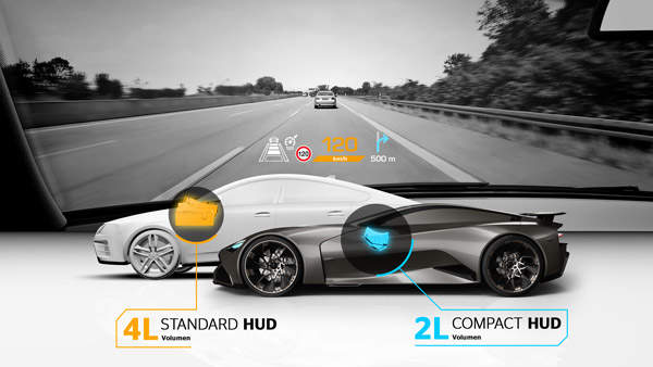 Continental Builds Heads Up Display For Sport And Performance Cars