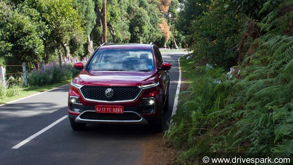 MG Hector Launched In India — Prices Start At Rs 12.18 Lakh