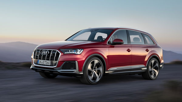 New Audi Q7 Facelift Revealed