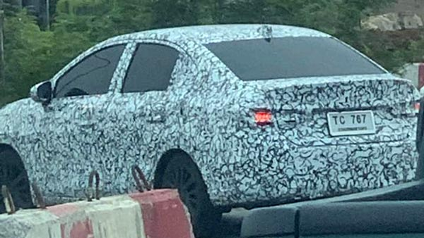 Next-Gen 2020 Honda City Spotted Testing