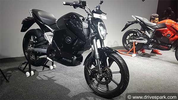 Revolt RV 400 Electric Motorcycle Revealed