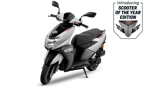 TVS Ntorq 125 Launched With New Colour