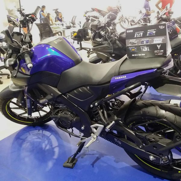 Yamaha MT-15 Spotted With New Colours