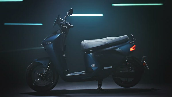 Yamaha Unveils Electric Scooter