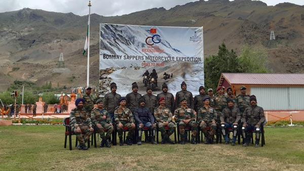 13 Soldiers Ride From Kargil To Pune