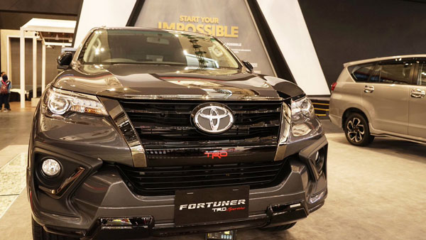 Toyota Fortuner TRD Sportivo SUV Showcased At Indonesia — All Specs And Details