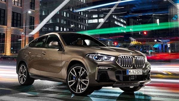 2020 bmw x6 suv coupe makes its global debut