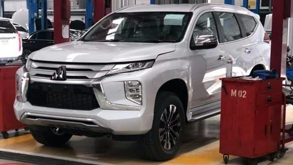 2020 Mitsubishi Pajero Redesign And US Release Date >> New 2020 Mitsubishi Pajero Sport Images Leaked Receives