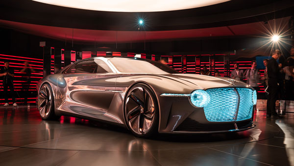 Bentley EXP 100 GT Makes Debut: Features Adaptive Scents And Artificial Intelligence