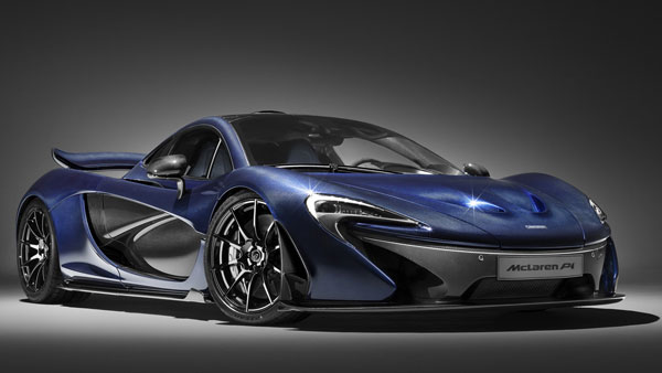 A McLaren P1 Slays The Bottlecap Challenge!