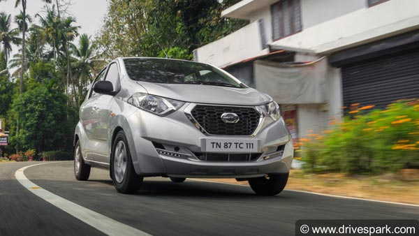 2019 Datsun Redi-GO Launched: Updated With New Features & Safety Equipment