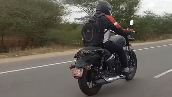 2020 BS-VI Royal Enfield Thunderbird Spotted Testing — Features Relaxed Riding Position