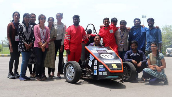 Osmania University Students Build Formula Race Car From Scratch — Powered By A 390cc Engine?