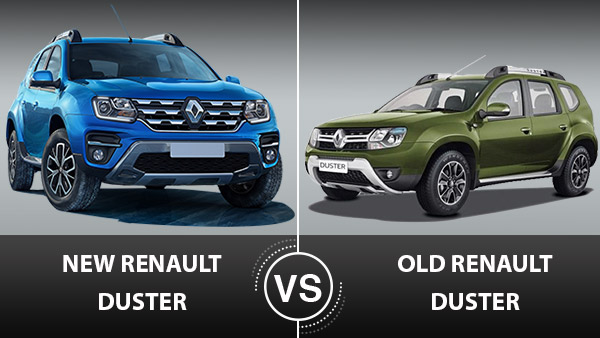 Renault Duster New Vs Old Comparison
