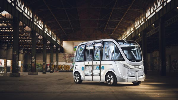 Self-Driving Bus Crashes Into Woman