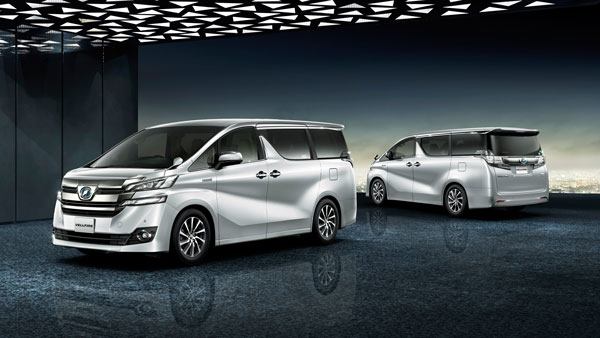 Toyota Vellfire Luxury MPV Unveiled In India: Features