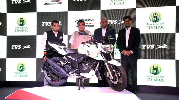 TVS Apache RTR 200 4V Ethanol Launched In India At Rs 1.2 lakh: First TVS Motorcycle To Run On Ethanol