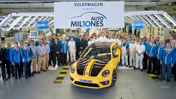 Volkswagen Beetle Production Ends