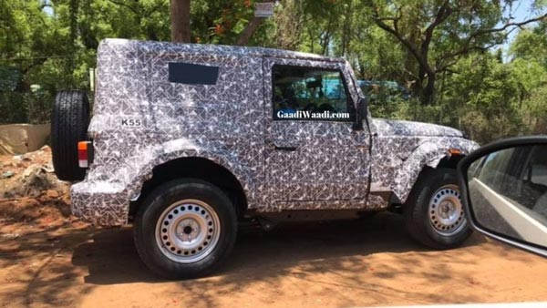 2020 Mahindra Thar Hardtop Spotted: Spy Pics And Details